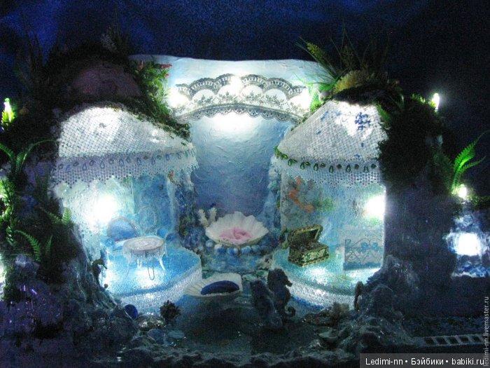Подводный дворец с подсветкой