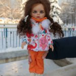 До 1 марта 1200р! Красивый яркий весенний комплект для кукол Паола Рейна