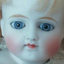 Alt, Beck & Gottschalk (ABG) Doll 639 молд. Очаровательная ранняя девочка с закрытым ротиком