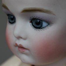 Красивая реплика антикварной куклы Брю (Bru Jne) 35 см