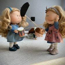 Кукольные будни - мы делили (апельсин) барабан