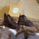 Продам кожаные ботинки (новые)