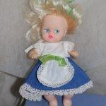 Кукла Настя из начала 90х.