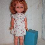 Кукла ГДР. Рыженькая. С милой улыбкой.
