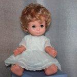 Кукла ГДР. Очаровательная малышка. НЮД.