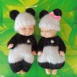 """Маленькие панды"", комплекты для малышей"