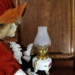 Миниатюрная керосиновая лампа