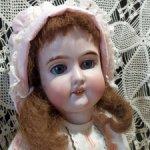 Антикварная кукла от Gebrüder Kuhnlenz, молд 165