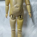 Антикварное тело ,рост 56 см