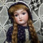 Антикварная кукла от Charles M. Bergmann