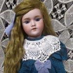 Антикварная кукла от Heinrich Handwerck молд 109 DEP