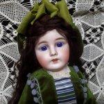 """Антикварная французская кукла """"Mon Tresor"""" от Henri Rostal"""