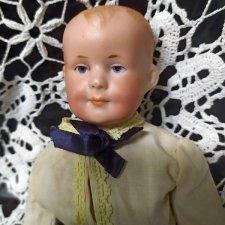 Маленький антикварный мальчик от Armand Marseille,молд 600