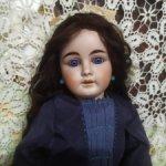 Антикварная кукла от Gebrüder Kuhnlenz, молд 44-30 dep. 52 см.