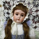 Антикварная кукла от J.D.Kestner, молд 171