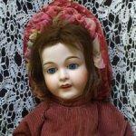 Французская антикварная кукла FAVORITE от A. Lanternier & Cie, Limoges