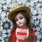 Антикварная кукла от Charles M. Bergmann, 41 см