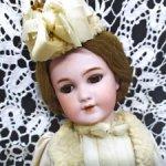 "Антикварная кукла Simon & Halbig молд 1249-"" Santa"". 37 см."