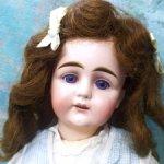 Антикварная ранняя  кукла , молд 129