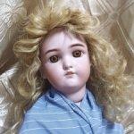 Антикварная кукла Jutta 1349, с дефектом