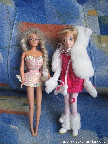 Барби Рапунцель и Соня. Заигранные внучкой.