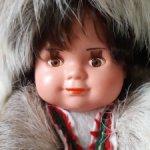 Кукла в национальной одежде. Дефект