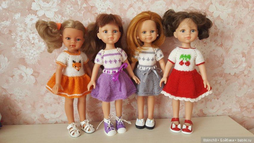 Платьица на миниатюрных девочек. Жаккард. Короткий рукав.