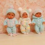 Одежда для малышей 20-22 см
