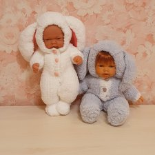 Милые зайки для малышей 25-28см