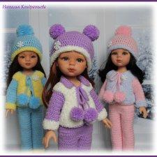 Одежда для кукол, теплые комплекты в ассортименте