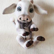 теленок  Кузя