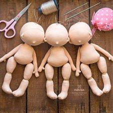 Три сестры, авторские куклы ручной работы от Наташи Исенбаевой