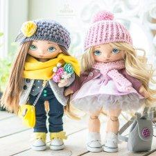 Две куколки уехали на пмж в Англию. Куклы Наташи Исенбаевой