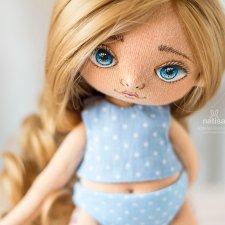 Куколка в морозной дымке от Наташи Исенбаевой
