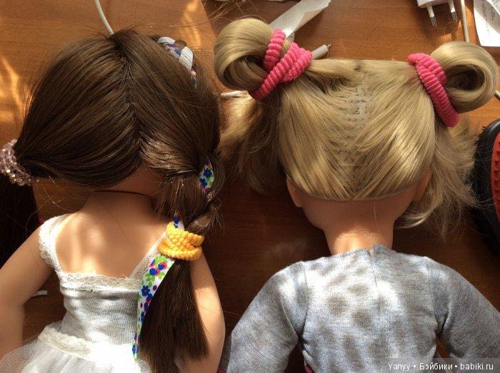 Сравнение куклы Готц с другой