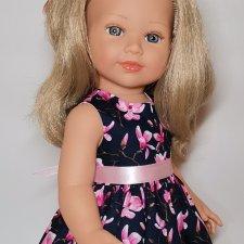 Кукла Корал Vestida de Azul.