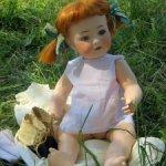 Антикварная озорная Софи ждет новую семью Куколка в идеальном состоянии (Heubach Koppelsdorf 320-3)