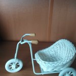 Велосипед с коляской для ваших малышек
