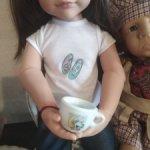 Сервиз на 6 кукольных персон