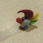 2 попугайчика из цветного стекла для румбоксов