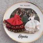 Винтажная тарелочка