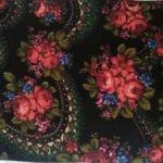 Кусок платка как шарф 70 на 40 см