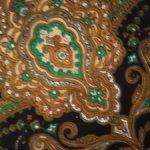 Винтажные платок 80 на 80 см