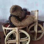 Велосипед из дерева и лозы для ваших малышек
