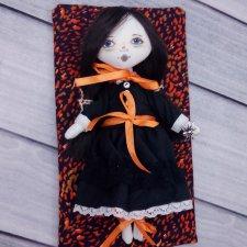 Как я упаковываю текстильных кукол