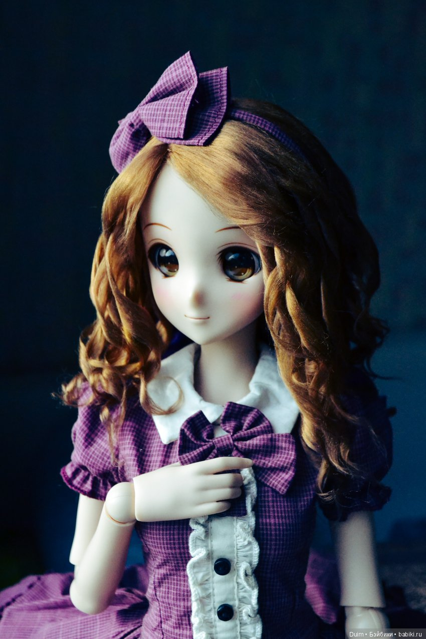 Пример парика на smart doll