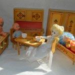 Кукольная мебель СССР