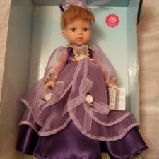 Кукла Карла принцесса в фиолетовом платье от Paola Reina