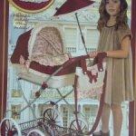 Очень красивая коляска для кукол и реборн ростом до 45 см.
