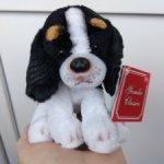 Реалистичный щенок спаниель.Собака (собачка) для кукол ростом до 50 см.Например, Готц Gotz.